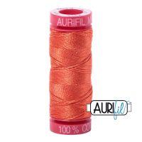 Aurifil Cotton 12wt, 1154 Dusty Orange