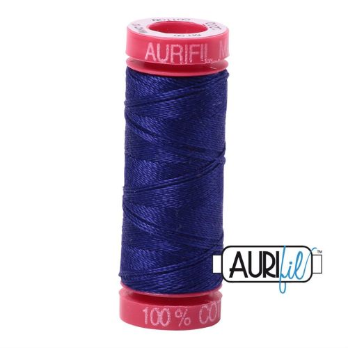 Aurifil Cotton 12wt, 1200 Blue Violet