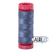 Aurifil Cotton 12wt, 1248 Dark Grey Blue