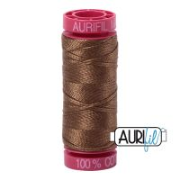 Aurifil Cotton 12wt, 1318 Dark Sandstone