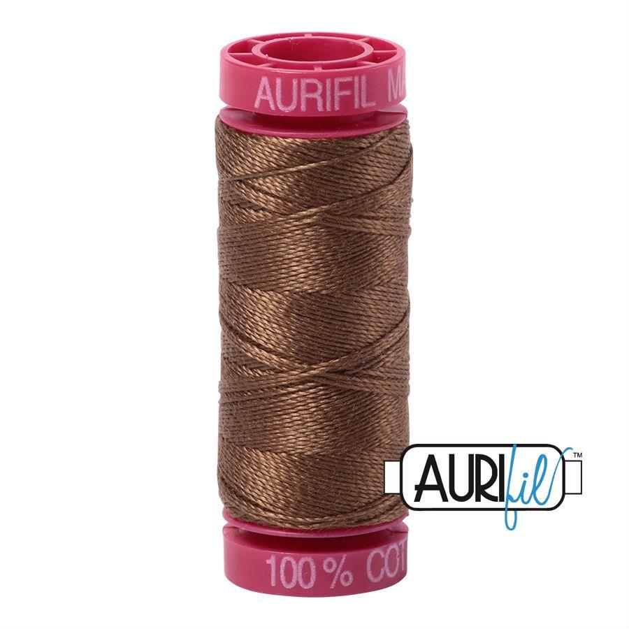 Aurifil Cotton 12wt, 1318 Dark Sandstone