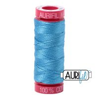 Aurifil Cotton 12wt, 1320 Bright Teal