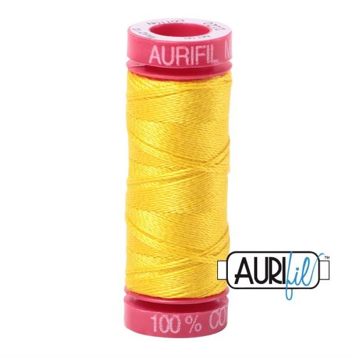 Aurifil Cotton 12wt, 2120 Canary