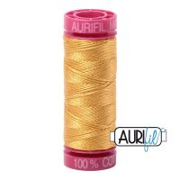 Aurifil Cotton 12wt, 2132 Tarnished Gold