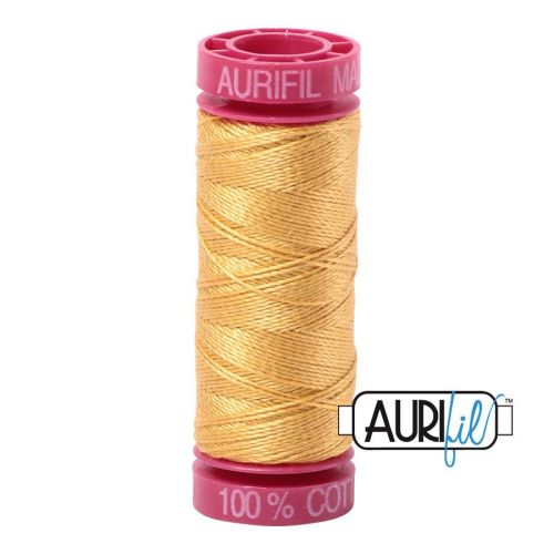 Aurifil Cotton 12wt, 2134 Spun Gold