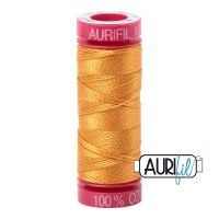 Aurifil Cotton 12wt, 2140 Orange Mustard