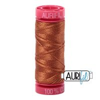 Aurifil Cotton 12wt, 2155 Cinnamon