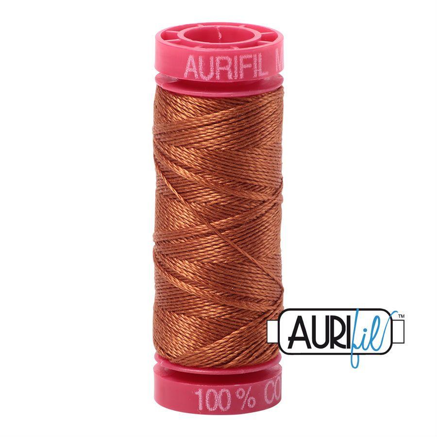Aurifil Cotton 12wt, 2155 Cinnamon