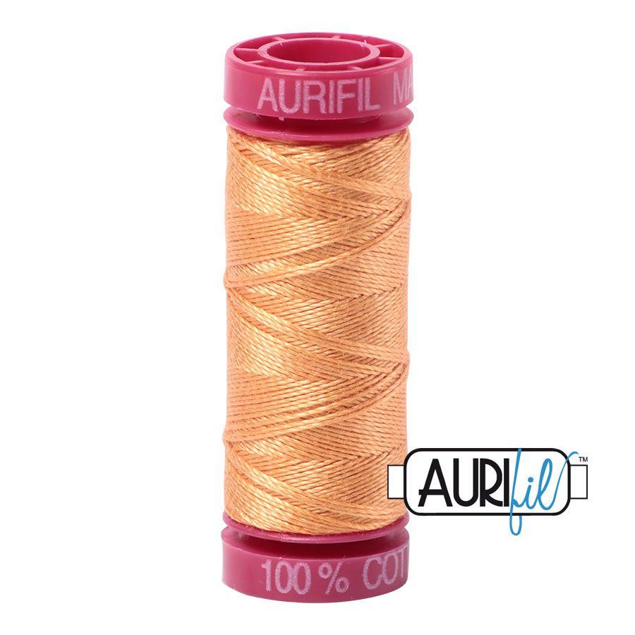 Aurifil Cotton 12wt, 2214 Golden Honey