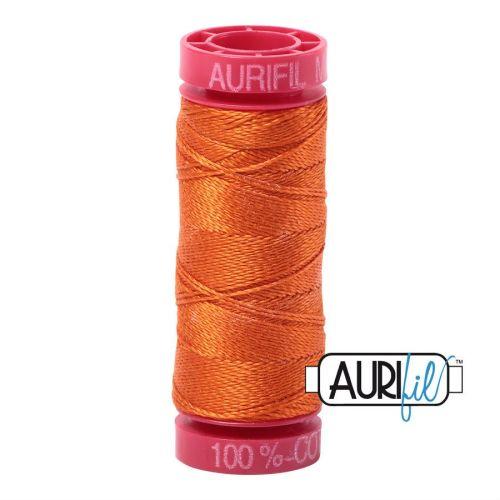 Aurifil Cotton 12wt, 2235 Orange