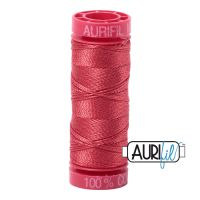 Aurifil Cotton 12wt, 2230 Red Peony
