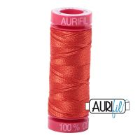 Aurifil Cotton 12wt, 2245 Red Orange