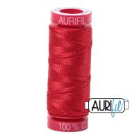 Aurifil Cotton 12wt, 2265 Lobster Red