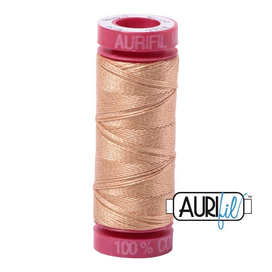 Aurifil Cotton 12wt, 2318 Cachemire