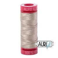 Aurifil Cotton 12wt, 2324 Stone