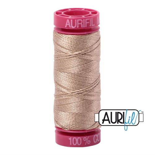 Aurifil Cotton 12wt, 2326 Sand
