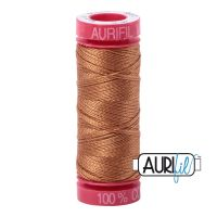 Aurifil Cotton 12wt, 2335 Light Cinnamon