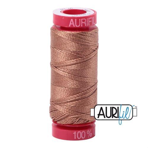 Aurifil Cotton 12wt, 2340 Cafe au Lait