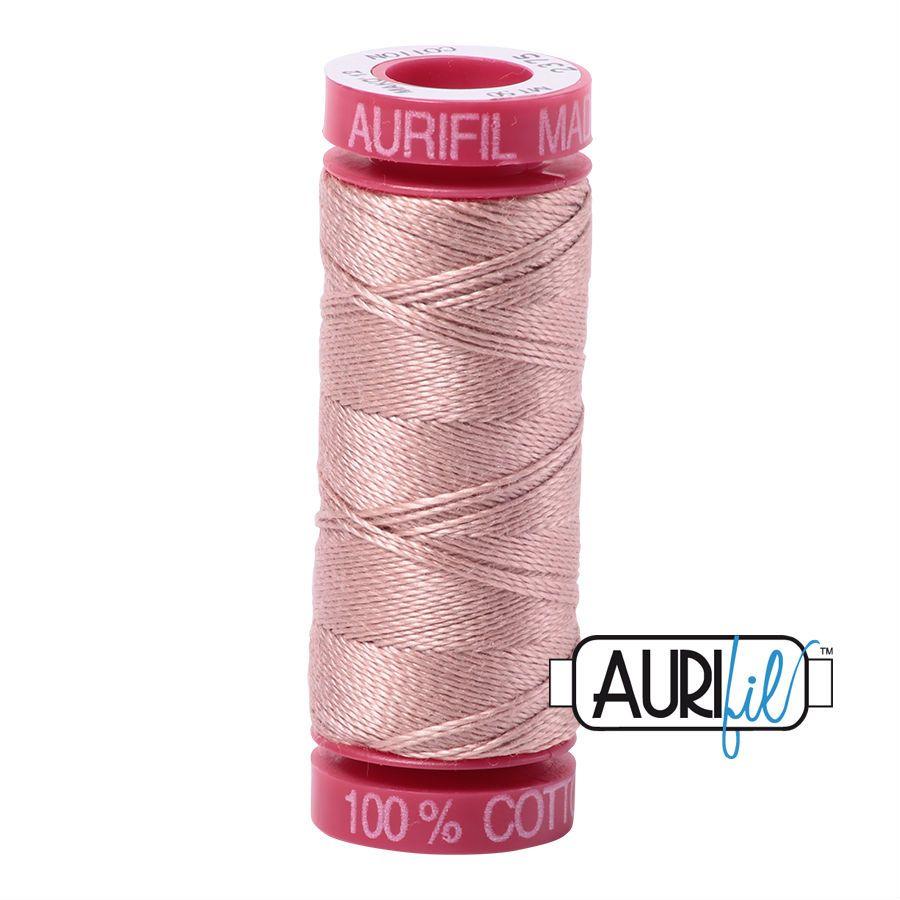 Aurifil Cotton 12wt, 2375 Antique Blush
