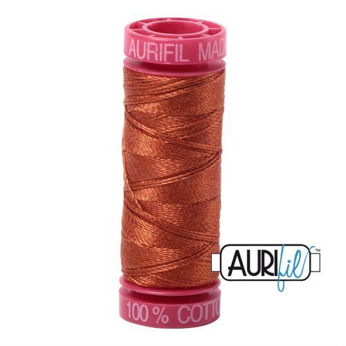 Aurifil Cotton 12wt, 2390 Cinnamon Toast