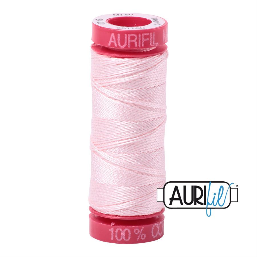 Aurifil Cotton 12wt, 2410 Pale Pink