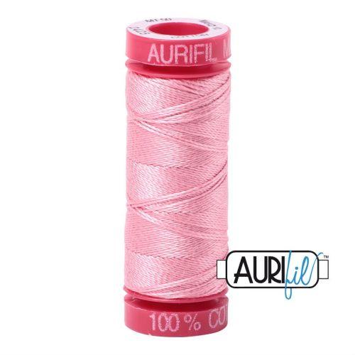 Aurifil Cotton 12wt, 2425 Bright Pink