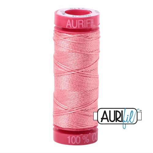 Aurifil Cotton 12wt, 2435 Peachy Pink