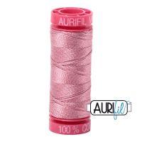 Aurifil Cotton 12wt, 2445 Victorian Rose