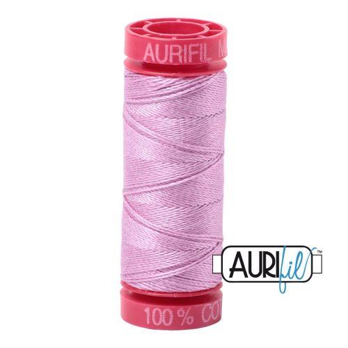 Aurifil Cotton 12wt, 2515 Light Orchid