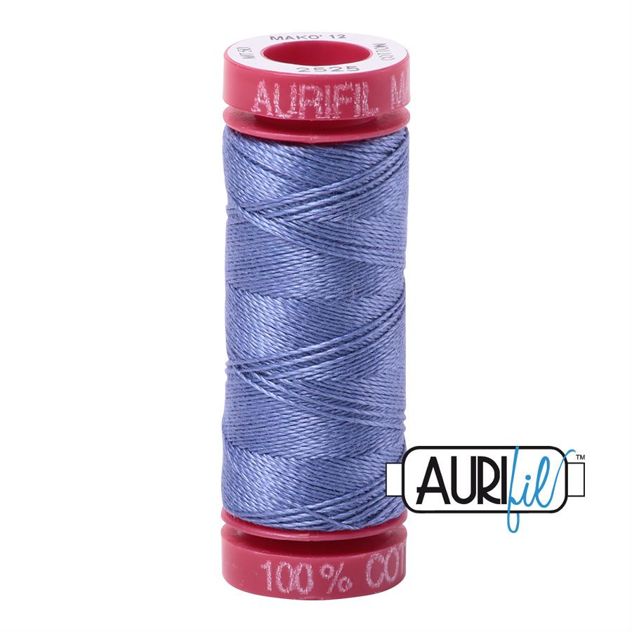 Aurifil Cotton 12wt, 2525 Dusty Blue Violet
