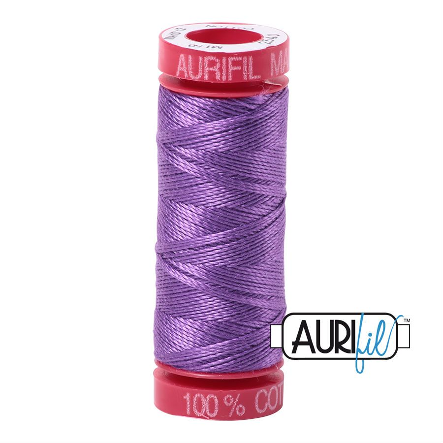 Aurifil Cotton 12wt, 2540 Medium Lavender