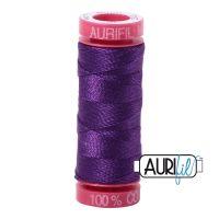 Aurifil Cotton 12wt, 2545 Medium Purple