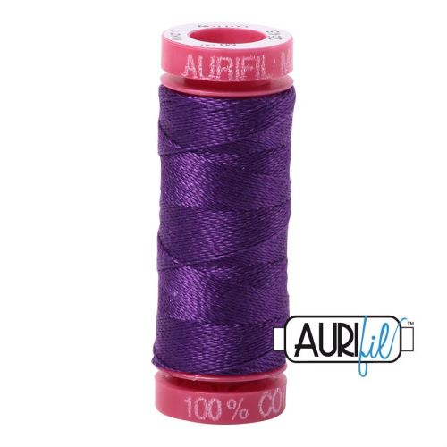 Aurifil Cotton 12wt, 2545 Medium Purple