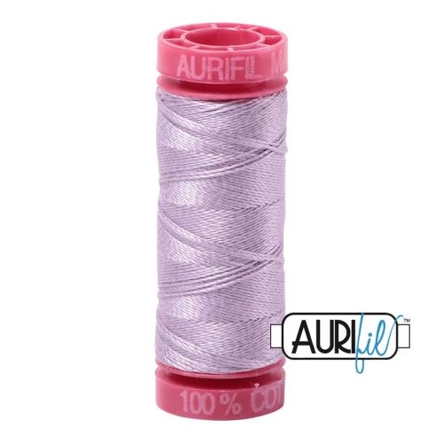 Aurifil Cotton 12wt, 2562 Lilac