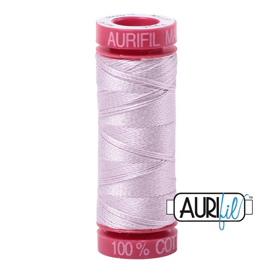 Aurifil Cotton 12wt, 2564 Pale Lilac
