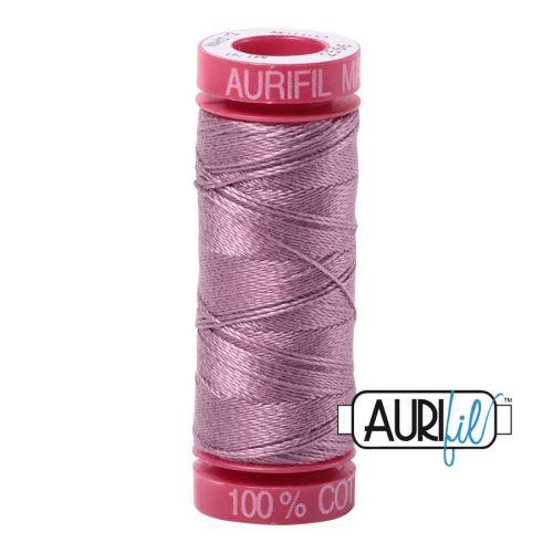 Aurifil Cotton 12wt, 2566 Wisteria