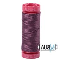 Aurifil Cotton 12wt, 2568 Mulberry