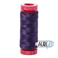 Aurifil Cotton 12wt, 2581 Dark Dusty Grape