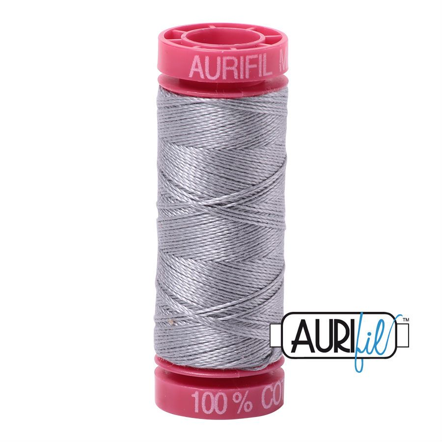 Aurifil Cotton 12wt, 2606 Mist