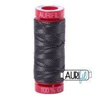 Aurifil Cotton 12wt, 2630 Dark Pewter
