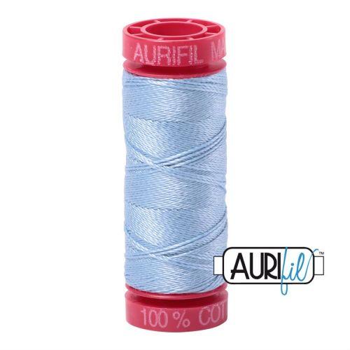 Aurifil Cotton 12wt, 2715 Robins Egg