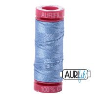 Aurifil Cotton 12wt, 2720 Light Delft Blue