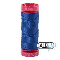 Aurifil Cotton 12wt, 2735 Medium Blue