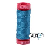 Aurifil Cotton 12wt, 1125 Medium Teal