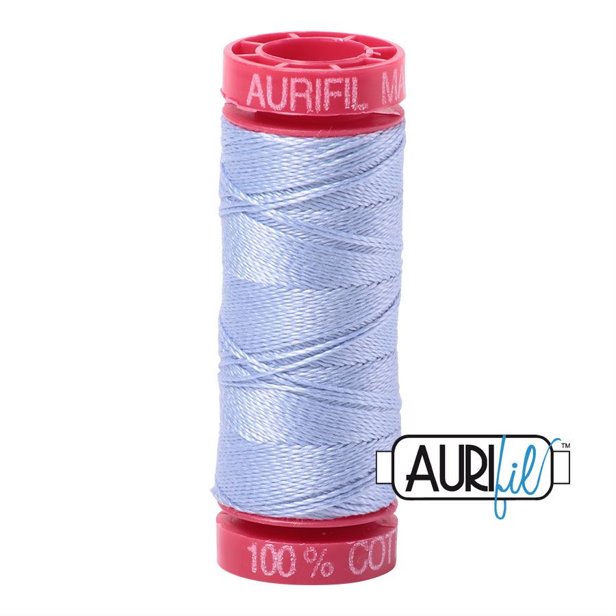 Aurifil Cotton 12wt, 2770 Very Light Delft