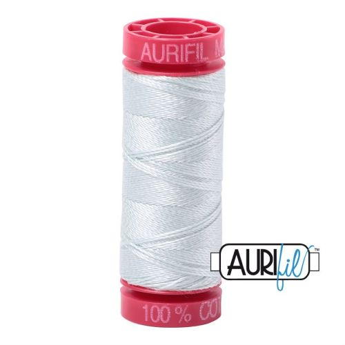 Aurifil Cotton 12wt, 2800 Mint Ice