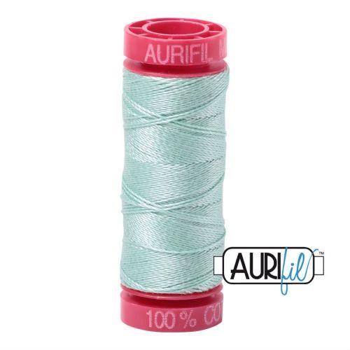 Aurifil Cotton 12wt, 2830 Mint