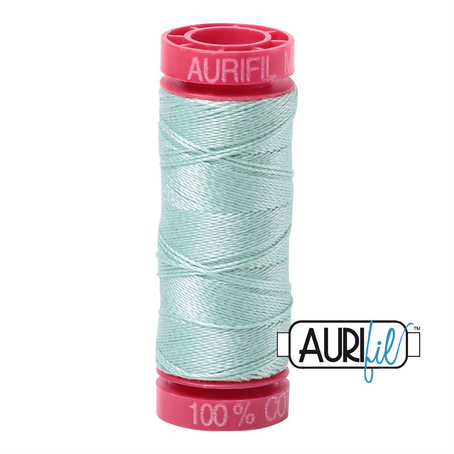 Aurifil Cotton 12wt, 2830 Mint