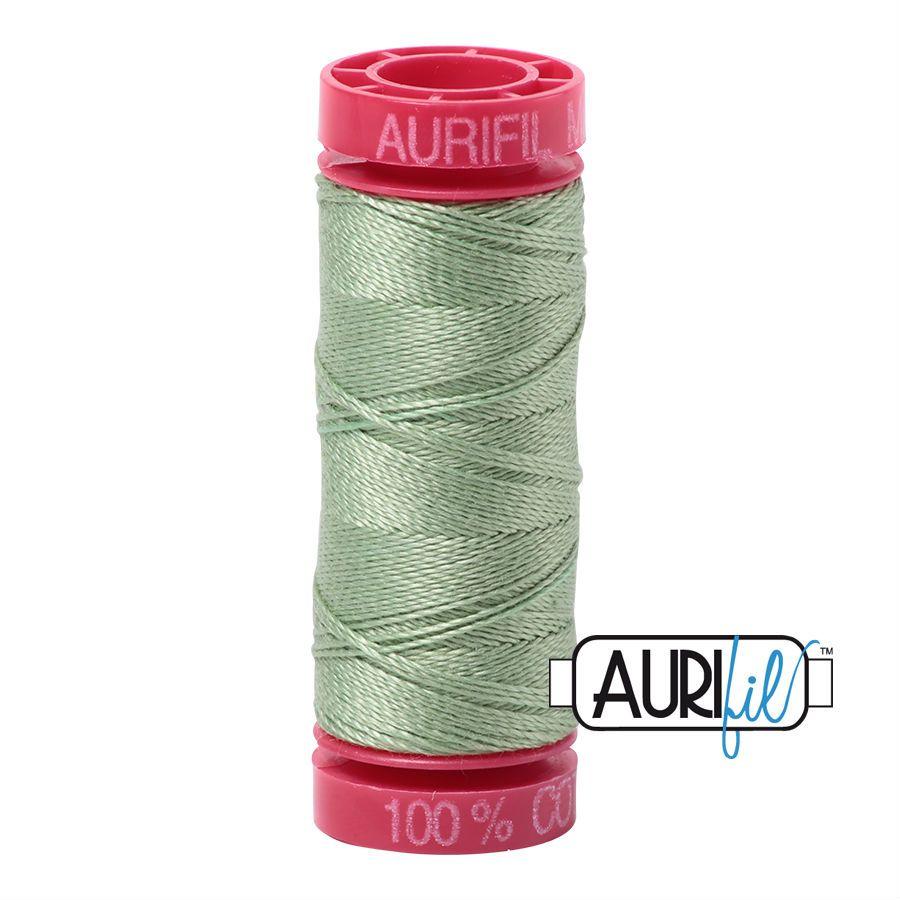 Aurifil Cotton 12wt, 2840 Loden Green