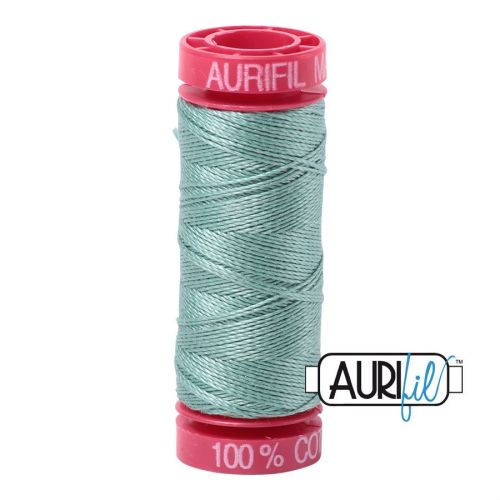 Aurifil Cotton 12wt, 2845 Light Juniper
